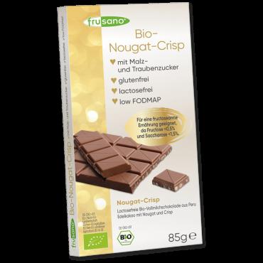 Schokolade Nougat Crisp bio 85g