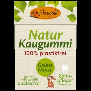 Natur Kaugummi Grüne Minze 20 Stk.